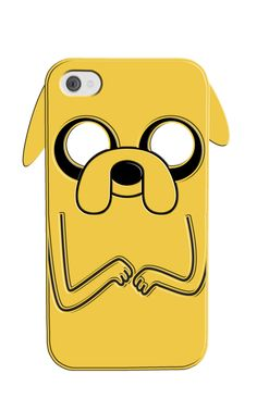 iPhone4 Silicone Phone Cases - Disney / Adventure Time by Mike Bonanno, via Behance