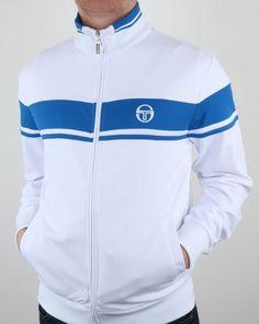 ba759f0b Sergio Tacchini Masters Track Top White/Royal,tracksuit,jacket Tracksuit  Jacket, Tracksuit