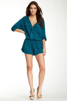 Malik Solid Romper on HauteLook