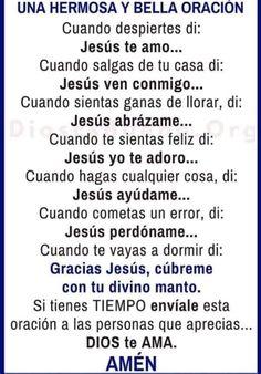 Good Prayers, Beautiful Prayers, Catholic Prayers In Spanish, Bible Topics, Christian Life Coaching, Gods Love Quotes, Personal Prayer, Miracle Prayer, Catholic Religion