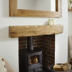 Solid oak beam mantel shelf kiln dried oak beams framing oakfield horsham rustic air dried oak mantel fireplace mantels oak beams oak beams 1 for fireplaceSolid Oak Beam Rustic Character Mantel Shelf. Reclaimed Wood Mantel, Oak Mantel, Farmhouse Mantel, Rustic Fireplace Mantels, Mantel Shelf, Rustic Wood, Custom Fireplace, Wood Shelf, Fireplace Ideas