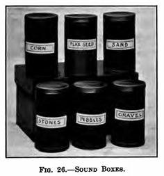 Montessori DIY - Sound Boxes (i cilindri dei rumori)