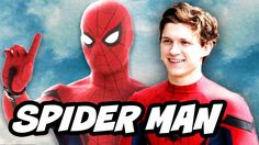 Spider Man Homecoming Avengers Interview and Mary Jane Zendaya Debunked