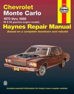 Buick mid size haynes repair manual free download pdf buick chevrolet monte carlo automotive repair manual 1970 thru 1988 fandeluxe Gallery