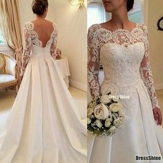 Formal Dresses For Weddings, Wedding Dresses Plus Size, Plus Size Wedding, Formal Wedding, Dream Wedding Dresses, Trendy Wedding, Elegant Wedding, Wedding Lace, Gown Wedding