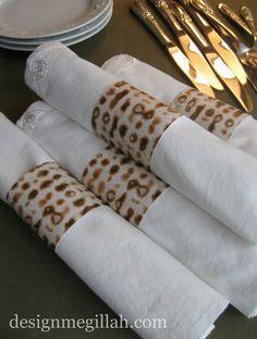 Matzoh Napkin Rings. Matzoh-Inspired Crafts for Passover!