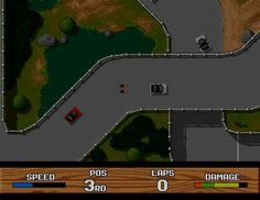 Super Cars II (Commodore Amiga)