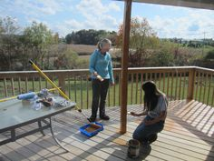 How To Add Stairs To Your Deck Deck Stairs And Decking
