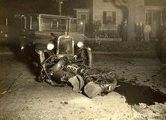 Auto Wreck vintage