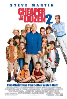 Cheaper by the Dozen 2........