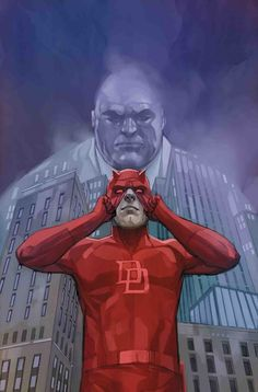 Marvel comics for October: this is the cover for Daredevil drawn by Phil Noto. Marvel Comics Art, Marvel Comic Books, Marvel Heroes, Marvel Characters, Comic Books Art, Captain Marvel, Marvel News, Comic Movies, Daredevil 2015