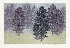 Hajime Namiki Japanese woodblock prints
