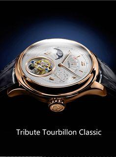 Switzerland Tourbillion Mechanical Watch