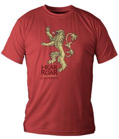 ">> Click to Buy << GAME OF THRONES ""LANNISTER"" T SHIRT New 2017 Fashion Mens T-Shirts #Affiliate"