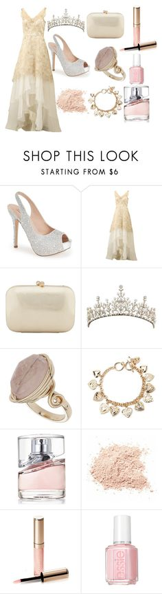 """""""Princess"""" by queenboyd23 on Polyvore featuring Lauren Lorraine, Notte by Marchesa, Serpui, Topshop, Forever 21, BOSS Hugo Boss, By Terry, Essie, women's clothing and women's fashion"""