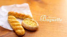 Miniature Baguette Tutorial - Polymer Clay Tutorial ( 미니어쳐 바게트 만들기 )