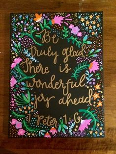 Canvas Quote Painting, Home Decor, Bible Quote, Wall Art - pinned by pin4etsy.com