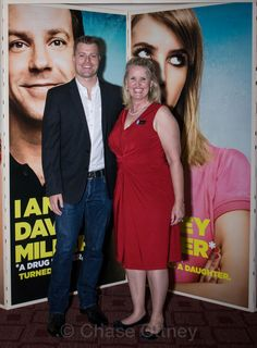 Me with #RawsonThurber, Director of #WeAreTheMillers, at the Private Premiere.