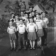 Mickey Mouse Club from 1955.