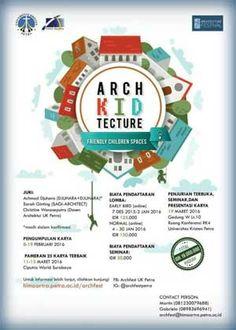 #Sayembara #Arsitektur #ArchKIDtectur #Petra #Surabaya Arch-KID-tecture…