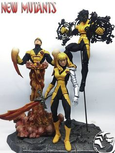 "Custom Marvel Legends MAGIK 6"" Figure by LEECH Customs 