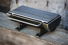 """612 Hibachi Grill by Kotaigrill on Etsy, $475.00. Handmade item Materials: steel, weld, welded steel, charcoal Made to order. This grill has a 6"""" x 12"""" grilling surface, is constructed of welded carbon steel, and is ready to last a few generations. If you want, this grill can be kicked up a notch by the upgrade of a T304 stainless steel grilling surface. Please inquire about this upgrade, if you are interested, and yes it will cost a little bit more."""