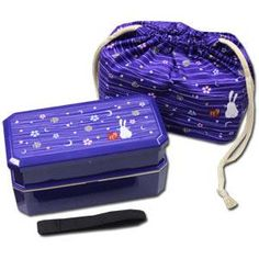 I found 'Blue Rabbit x Moon Bento Box Set ~ Square 2 tier Bento Box & Chopsticks & Bento Bag' on Wish, check it out!