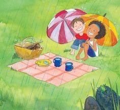 Ilustrações Marcia Misawa. Livro: No oco do toco