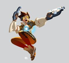 Overwatch - Tracer by zPePhungz