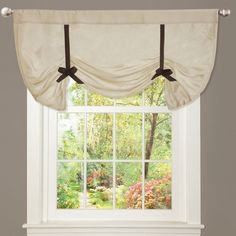 "Edythe 42"" Light Filtering Curtain Valance"