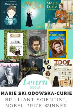 Who is Marie Curie? Fascinating facts, the best biographies and books, and videos for kids to explain this genius scientist's life and discoveries. Great for Women's History Day or any day to include women in STEM. Science Fiction Books, Fiction And Nonfiction, History For Kids, Women In History, Marie Curie For Kids, Teaching Kids, Kids Learning, Teaching Tools, Female Book Characters