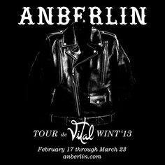 aaand extended through April, to my benefit. I will FINALLY be seeing the band I've adored since 9th grade. There's not a single Anberlin song that can't calm me/I don't like.