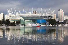 BC Place Stadium.  HOME OF THE NHL VANCOUVER CANUCKS