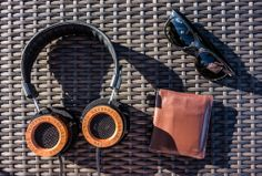 The Essentials - Some Grado, Sunglasses, and a Wallet for Some Bills