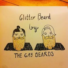 Gay Beard, Illustrations, Photo And Video, Instagram, Illustration, Paintings