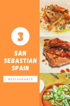 A lot of people talk about pintxos in San Sebastian, but what happens when you want a real meal? Here are three great restaurants you'll enjoy in downtown San Sebastian.