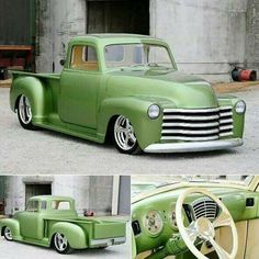 Slick looking Chevy 3100