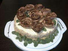 róże ciasto
