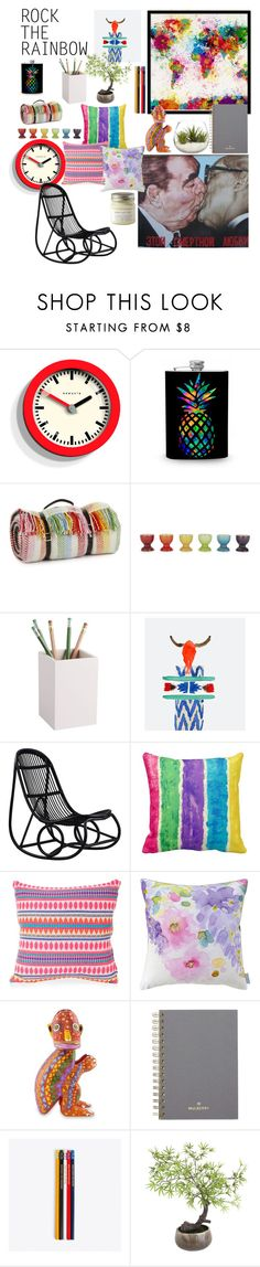 """Over the rainbow"" by ragnhild-stensheim ❤ liked on Polyvore featuring interior, interiors, interior design, home, home decor, interior decorating, Newgate, Tweedmill, Le Creuset and CB2"
