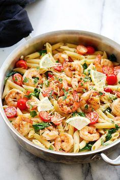 Cajun Shrimp Pasta | Easy Delicious Recipes