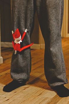 """hump your leg"" elf... best elf on the shelf yet..."