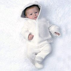 aw15: Buyers love Kapital K's new layette group with scaled-down versions of the company's popular boyswear. A favorite for fall, is the cuddly Sherpa Bear Hooded Zip-Up Jacket and Footed Pant Set in elegant white. www.kapital-k.com (buyers' pick)