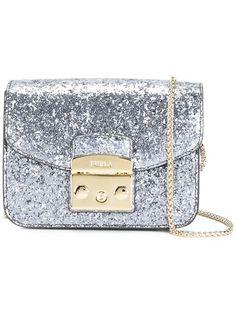 Furla glitter crossbody bag