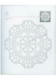100 Diseños flores de crochet 10-15-20 cm.