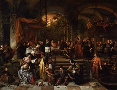 The Athenaeum - The Wedding Feast at Cana (Jan Steen - )
