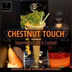 """Toda la esencia del otoño en nuestro cocktail """"Chestnut Touch"""" para #WorldClass15 Pasaté por Maremoto Café & Cocktail a probarlo. Te sorprenderá!"""