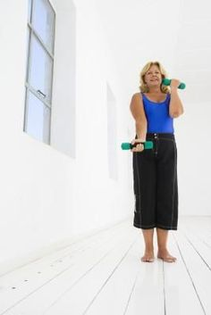 Upper Arm Exercises with Weights for Women Over 50 | eHow