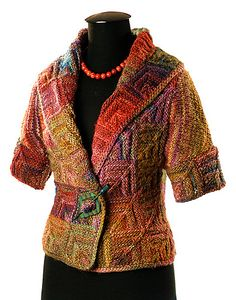 Ravelry: Innesse's Cute patchwork jacket