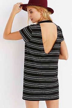 Truly Madly Deeply Open-Back T-Shirt Dress