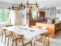 Modern dining room - good picture